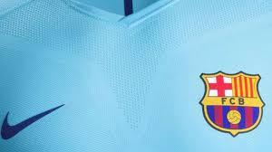 le fc barcelone dévoile maillot extérieur 2017 18