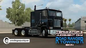100 Tow Truck Simulator Skin Road Ranger Ing Terminator 2 For Freightliner FLB