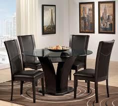 Cabinet Round Black Kitchen Table Small Full