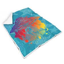 charzee decke wohn und flanell kuscheldecke viele farbe