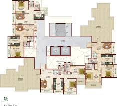 Highclere Castle First Floor Plan by Lakhani Builders White Castle Mumbai Discuss Rate Review