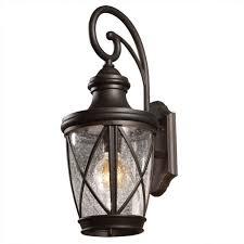 allen roth castine outdoor wall light 39426 ebay