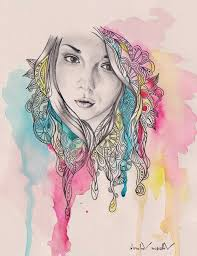 Watercolor Pencil Drawing Ideas Drawings Easy Related Keywords Amp Suggestions