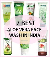 7 Top Best Aloe Vera Face Wash in India with Price