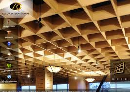 Rulon Wood Grille Ceiling by Rulon International Principledesign Com