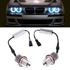 1 pair car led eye light bulbs for bmw e39 styling