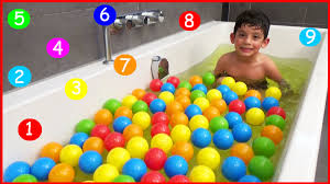Inflatable Bath For Toddlers by Learn Numbers 1 10 For Toddlers In Bath Numbers Counting To 10