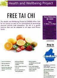 100 Cadas CADAS Barrow Free Tai Chi Meditation Classes Open Day