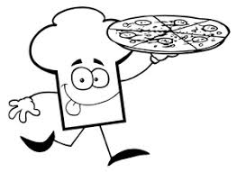 Pizza black and white chef clipart black and white free images