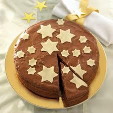 weihnachtliche mousse au chocolat torte