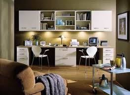 home office task lighting with cabinet lighting and desk