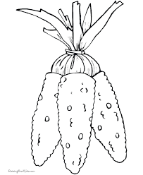 Child Preschool Thanksgiving Coloring Book Pages
