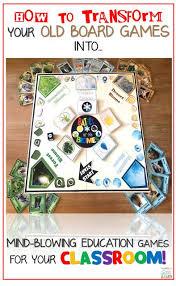 DIY Classroom Board Game