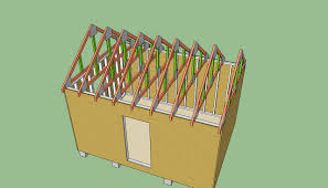 12x12 Gambrel Shed Plans by Mirrasheds