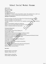 Social Worker Resume With No Experience Special Sample Work Hospice Examples