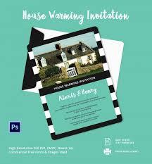Editable Housewarming Invitation Blank Calendars