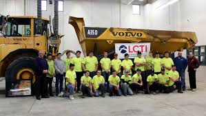 "Tech School Receives ""Gold Rush"" Haul Truck From Volvo CE 