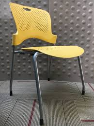 Herman Miller Caper Chair Colors by Cubes2u Herman Miller Caper Armless Stack Chair Yellow