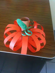 3D Pumpkin Craft With Toilet Paper Roll