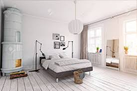100 Swedish Bedroom Design Modern Bedroom With Classic Swedish Stove 3d Concept Rendering
