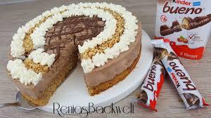 kinder bueno torte rezepte