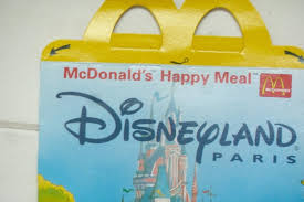 spielzeug mcdonalds disneyland happy meal toys and