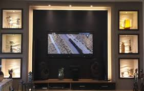 tv wand selber bauen wohnzimmer roomparadies