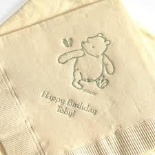 Winnie The Pooh Nursery Decor Ireland by Classic Winnie The Pooh Napkins Products I Love Pinterest
