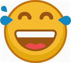 512x455 Emoji Emoticon Emoticons Emotion Laugh Smile Tears Icon