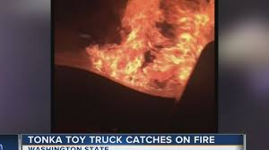 100 Tonka Truck Videos Toy Truck Sparks Fire In Real Pickup Truck