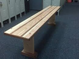 Sitting Bench s for Locker Room by AllTen LumberJocks