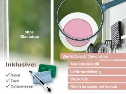 glasdekor fenstersticker bedruckt sticker set für badezimmer