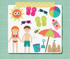 Summer Clip Art Graphics Swim Pool Little Kid Clipart
