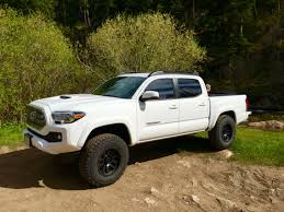 2016 Tacoma With 3 Inch Lift. 285/70/17 BF KO2's | Cars And Trucks ... Truck Accsories Toyota Tundra Bozbuz Superior 2013 2002 Tacoma Cars 2016 Trd Offroad Photo Image Gallery Aftermarket Custom Mods And Black Mesh White Toyota Letters Tacoma Grill Led Taillights Car Parts 264288bk Recon Fab Fours Premium Rear Bumper Christmas Wish Bed Mat Youtube Trucks 2015 New Beautiful Famouskmksrh26 2003 Xtra Cab Specs Photos Production Is Maxed Out As The Midsize Pickup
