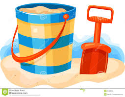 Sand Bucket And Shovel Clipart