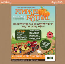 Pumpkin Patch Petting Zoo Illinois by Fall Festival Harvest Invitation Poster Flyer Pumpkin Patch