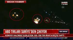 100 Northeastern Trucks 150 US Military Left Syria Turkish Media