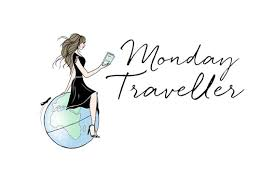 Photographer Travel Logo Map Blog Photography