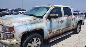100 Wrapped Trucks Chevy Silverado Wrapped Like An Old Rusty POS New Trucks