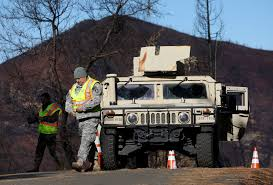 100 Toll Truck Service Camp Fire Death Toll Revised Downward Officials Eye Opening Some