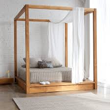 Canopy Bed Queen by Queen Canopy Bed Frame Houston Model Inspirations How To Build A