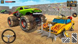100 Monster Trucks Crashing Truck Derby Crash Stunts For Android APK Download