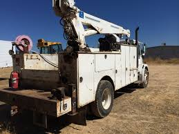 100 Service Truck With Crane For Sale 1997 Freightliner FL70