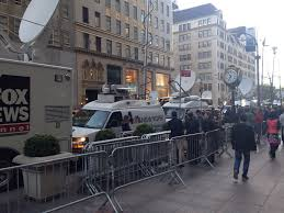 Satellite Trucks Line Fifth Ave Outside Trump Tower Ahead Of ... Pmtv Sallite Uplink Trucks For Broadcast Live Streaming Trucks At The Coverage Of Timothy Mcveighs Exec Flickr Side Loader New Way The Best To Transmit Data In Really Wired 3d Rendering On Road With Path Traced By Stock Espn Gameday Truck Was Parked Nearby 2012 Us Presidential Primary Covering Coverage Tv News Broadcast Live With Antenna And Sallite Tv Truck Parabolic Frm N24 Channel Media Descend On Jpl Nasas Mars Exploration Program Rear View Of White Television Multiple