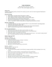 Cover Letter For Babysitting Job Concierge Personal Assistant