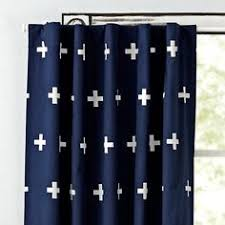 Land Of Nod Blackout Curtains by Go Lightly Grey Triangle 96
