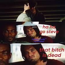 Love Story Bucky His Plums Marvelbxtch