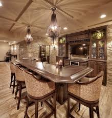 100 Wine Room Lighting Kansas City Basement Bar Home Bar Mediterranean With Woven