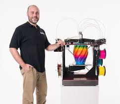 ORDs Chris Gibson And The New RoVa4D Full Color Blender 3D Printer