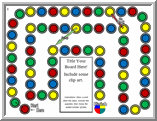 Image Of Circles Template Spots Game Jump Board